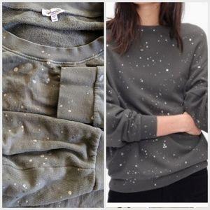 Splendid splatter sweatshirt